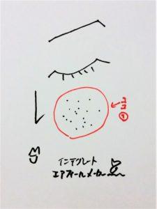 インテグレート新作コスメエアフィールメーカー(ラベンダー化粧下地)のけろ子の使い方1