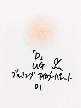 DAISO×URGLAM 9色アイシャドウ ブルーミングアイカラーパレット 01-D 色味