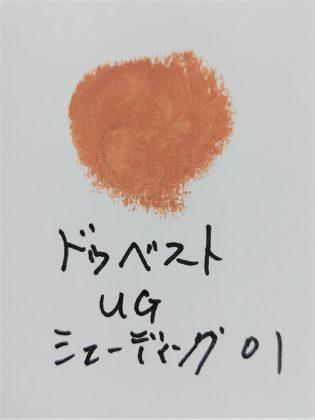 ダイソー(DAISO)×ユーアーグラム(URGLAM) シェーディングスティック 色味(紙)