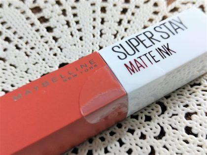 メイベリン SPステイマットインク ヌードカラー 新色 人気色 210 テラコッタブラウン 梱包