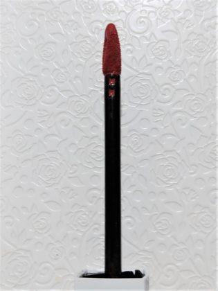 メイベリン SPステイマットインク ヌードカラー 新色 モデル使用色 130 アプリコットジャム アプリケーター 横