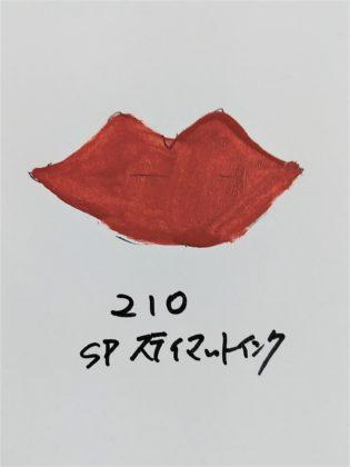 メイベリン SPステイマットインク ヌードカラー 新色 人気色 210 テラコッタブラウン 色味(紙)