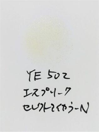 コーセー(KOSE) エスプリーク(ESPRIQUE) アイシャドウ セレクトアイカラーN 限定 YL502 フレッシュイエロー 色味(紙)