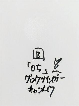 CANMAKE(キャンメイク) 2019年夏 アイシャドウ グロウツインカラー 05ピンクベージュパール B 色味(紙)