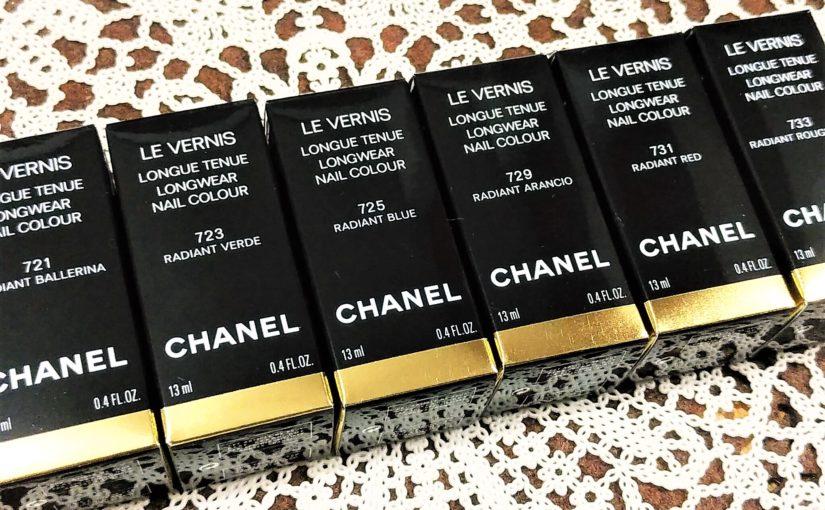 シャネル2019夏新作ネイル「ヴェルニロングトゥニュ全6色」色味・ラメ感・品の良さ♪