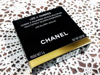 シャネル(CHANEL) レキャトルオンブル 328ブラーリーモーブ 外箱