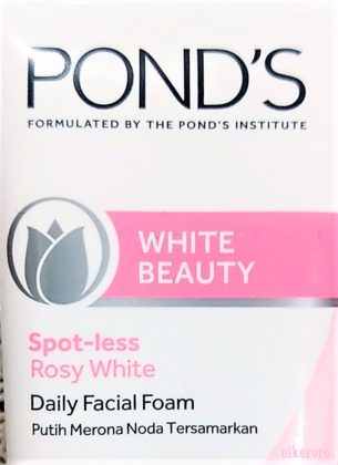 100円ショップキャンドゥ(CanDo) 洗顔フォーム ポンズ(POND'S) ピンキッシュホワイト(WHITE BEAUTY)