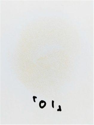セザンヌ パールグロウハイライト 01 シャンパンベージュ 色味(紙)