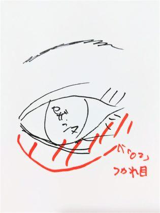 セザンヌ パールグロウハイライト 02 ロゼベージュ 使い方3