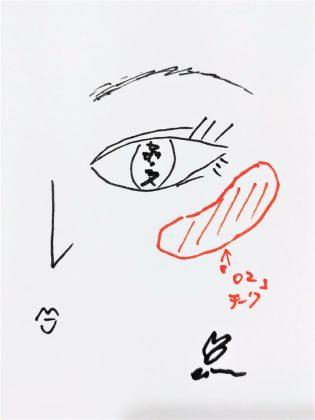 セザンヌ パールグロウハイライト 02 ロゼベージュ 使い方4