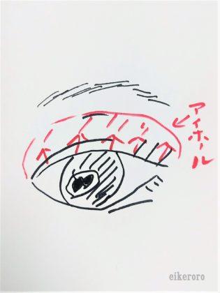 セリア(Seria) ドゥ・ベスト(DO-BEST) ミオピッコロ(MIO PICCOLO) MPジェムアイクレヨン(MP Jem Eye Crayon) 使い方 アイホール