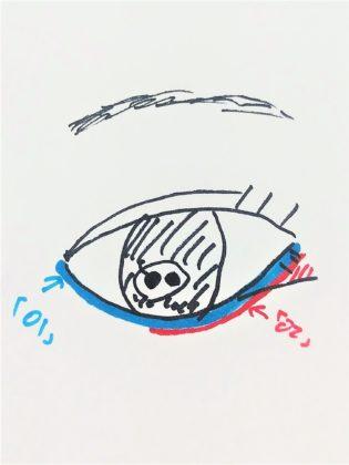 セリア(Seria) ドゥ・ベスト(DO-BEST) ミオピッコロ(MIO PICCOLO) MPジェムアイクレヨン(MP Jem Eye Crayon) 使い方 2色使い