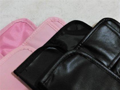 ダイソー(DAISO) ブラシ収納ケース 100円商品と200円商品の違い (内側の色・質感)