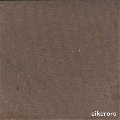 ダイソー(DAISO)×ユーアーグラム(URGLAM) パウダーアイシャドウ マットカラー BR-3 ダークブラウン 色味(パレット)