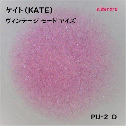 ケイト(KATE) ヴィンテージモードアイズ PU-2 D ラメ感