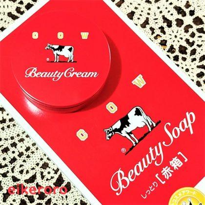 牛乳石鹸(カウブランド) 赤箱 ビューティクリーム(10月12日新商品)・ビューティソープ(しっとり化粧石鹸) インスタグラム