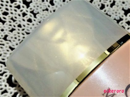 セザンヌ(CEZANNE) 化粧下地 皮脂テカリ防止下地 保湿タイプ オレンジベージュ キャップ・ふちが金色