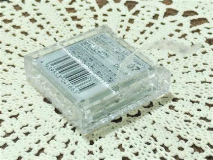 セザンヌ春新作(発売:2月14日)「シングルカラーアイシャドウ」包装ビニール