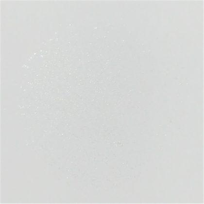 セザンヌ春新作(発売:2月14日)「シングルカラーアイシャドウ 新色 07:アイスブルー」紙に塗った色味