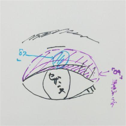 セザンヌ春新作(発売:2月14日)「シングルカラーアイシャドウ 07:アイスブルー 09:グレイッシュブラウン」使い方