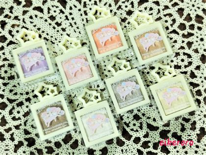 セリア(Seria)×キキララ新作アイシャドウ「ルミナスシャドウ 全8色」セカンド画像