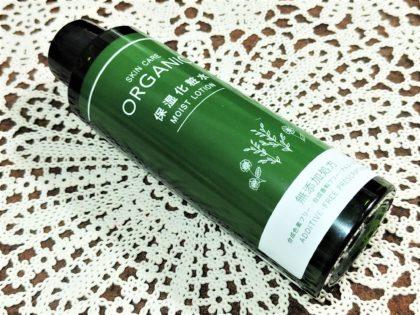 ダイソー(DAISO) スキンケア(SKIN CARE) オーガニック(ORGANIC) 保湿化粧水(MOIST LOTION)