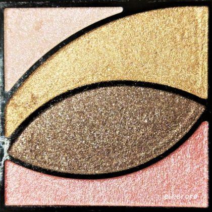 ユーアーグラム(URGLAM) ベルベットアイカラーパレット 02 ピンク&ブラウン 色味