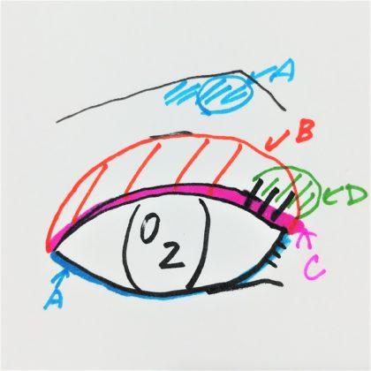 ユーアーグラム(URGLAM) ベルベットアイカラーパレット 02 ピンク&ブラウン 使い方