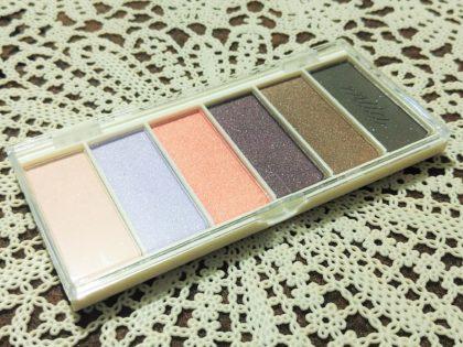 ダイソー×ミーア(miia) 6色アイシャドウ 全4種類 パッケージ・付属品 ケース