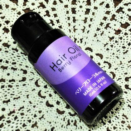 ダイソーヘアオイルD B ベリーフローラルの香り