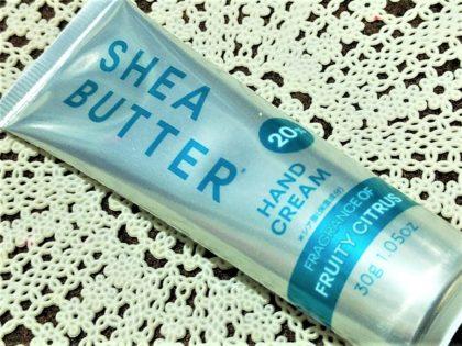 ダイソー シアバター 高配合 20% ハンドクリーム フルーティシトラス